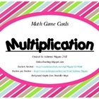 Multiplication Game Cards - Multi-Use