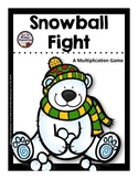 Multiplication Game: Snowball Fight