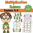 Multiplication Games Pack 2