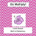 Multiplication Go Game Mega Pack