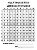 Multiplication Hidden Pictures-Using a Grid