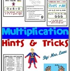 Multiplication Hints & Tricks for 0's, 1's, 2's, 5's, 9's