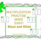 Multiplication Made Easy Black and White version