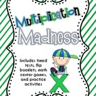 Multiplication Madness {Timed Tests, Center Games, and Pra
