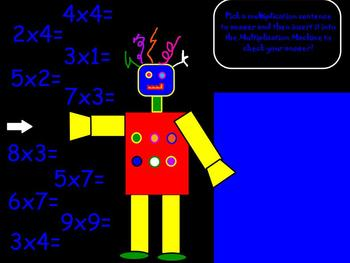 Multiplication Magical Math for ActivBoard
