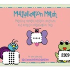 Multiplication Match-Repeated Addition and Arrays