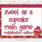 Multiplication Math Pack: Sweet as a Cupcake/ Football Fun