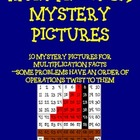 Multiplication Mystery Pictures on a Hundreds Grid #1