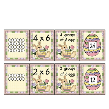 Multiplication Practice- Easter Theme