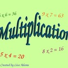 Multiplication Practice Power Point