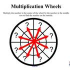 Multiplication Practice with Multiplication Wheels