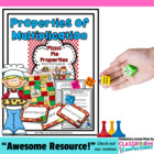 Multiplication Properties Game