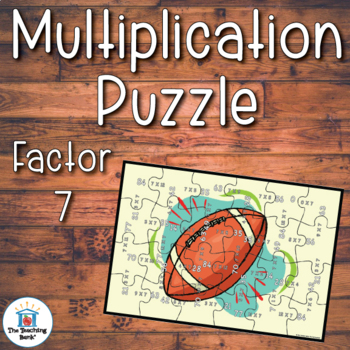 Multiplication Puzzle for Factor 7