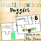 Multiplication Puzzles - 1-5
