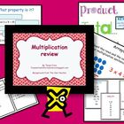 Multiplication Review Notebook