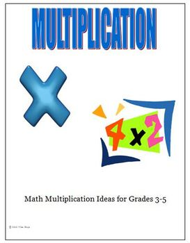 Multiplication Strategies Speed Tests Ideas Activities Gra
