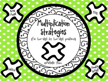 Multiplication Strategies {for two-digit by two-digit problems}