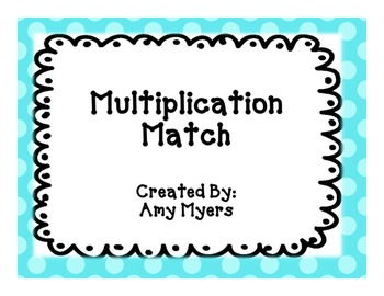 Multiplication Strategy Match Center