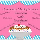 Multiplication Sundae~ Quizzes, Flashcards, Certificates,