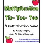 Multiplication Tic-Tac-Toe: Practicing Word Problems with a Game!