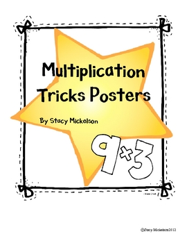 Multiplication Tricks Posters