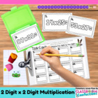 Multiplication - Two Digits by Two Digits {Math Workshop A