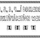 Multiplication War (Basic Facts)