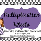 Multiplication Wheels- Spring