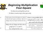 Multiplication and Division 4 Square Bundle