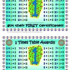 Multiplication and Division Certificates - Elementary-Class.com