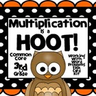 Multiplication is a HOOT! Common Core Grade 3 Word Problem