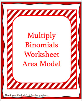 Multiply Binomials using the box method   FOIL