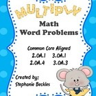 Multiply Math Word Problems