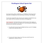 Multiplying Decimals Lesson Activity Creative Sports Fair