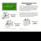 Multiplying Decimals Study Guide: Traditional &amp; Lattice Method