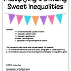 Multiplying &amp; Dividing Sweet Inequalities