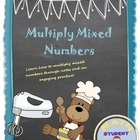 Multiplying Mixed Numbers Notes & Practice; Fun, Engaging