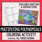 Multiplying Polynomials {FOIL} Coloring Activity!