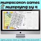 Multiplying by 9 - Math Games and Lesson Plan