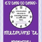 Multiplying til Midnight - a Multiplication Fact Challenge