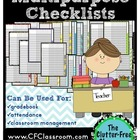 Multipurpose Checklists for Classroom Management {gradeboo