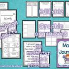 Multistep Math Journal-editable