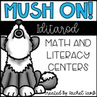 Mush On! Iditarod Sled Dog Race Winter Math and ELA centers