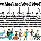 Music Center- How Much Is a Word Worth?