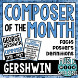 Music Composer of the Month: George and Ira Gershwin- Bull