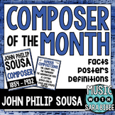 Music Composer of the Month: John Philip Sousa- Bulletin B