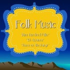 Music: Folk Music/Major and minor Songs PP