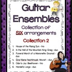 Music: Guitar Ensembles - Collection of SIX arrangement: C