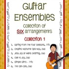 Music: Guitar Ensembles - Collection of SIX arrangements