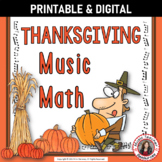 Music Math with a Thanksgiving Theme